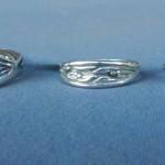 Eucalyptus Rings in Sterling Silver